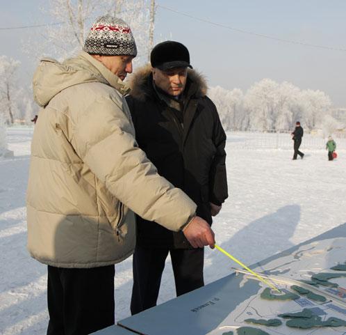 Сибиряки вкладывают деньги в велоинфраструктуру.Красноярск: проект велодорожек в зоне отдыха Krasnojarsk1